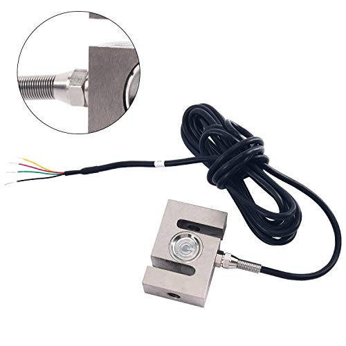500kg S Type Alloy Steel Weighting Sensor Beam Load Cell Scale Sensor+Cable for Electronic Weighing Devices