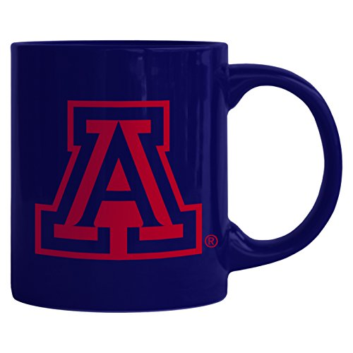 NCAA Arizona Wildcats Sculpted Rally Mug, 11-ounce