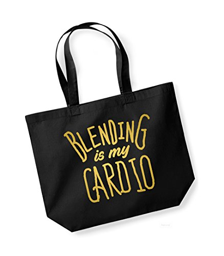 Canvas Kelham Bag Slogan Black My gold Is Cotton Tote Blending Print Cardio Unisex q4TwSI