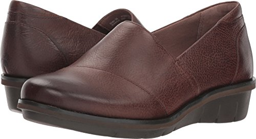 Dansko Women's Julia Loafer Flat, Brown Burnished Nubuck, 38 M EU (7.5-8 US) ()