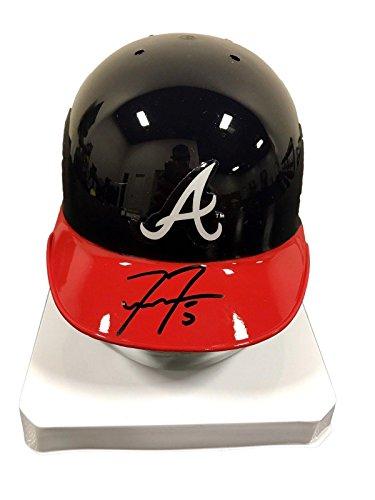Freddie Freeman Atlanta Braves Signed Mini Batting Helmet - JSA Certified - Autographed MLB Mini Helmets