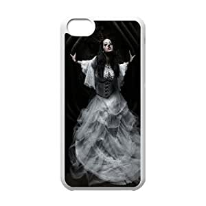 Gothic Gothic girl CHA2031541 Phone Back Case Customized Art Print Design Hard Shell Protection Iphone 5C