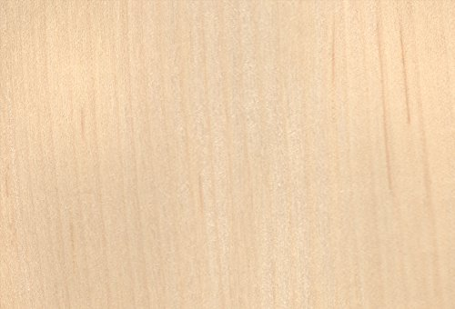 Maple White Wood Veneer 2x8 3M Pre-Adhesive Backer by Veneer Tech