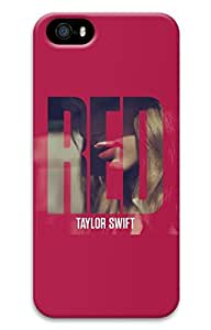 VUTTOO iPhone 5 Case, iPhone 5S Cases - VUTTOO Scratch-Resistant 3D Print Hard Case for iPhone 5/5s Taylor Swift Red Deluxe Version Album Best Protective Back Bumper Case for iPhone 5/5S by runtopwellby Maris's Diary