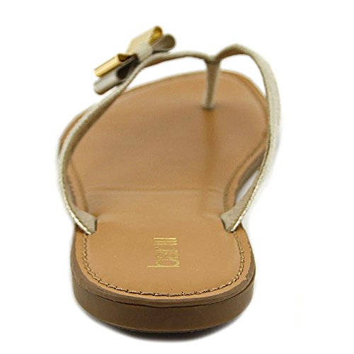 Bar Iii Womens Vance Open Teen Casual Goud Metallic