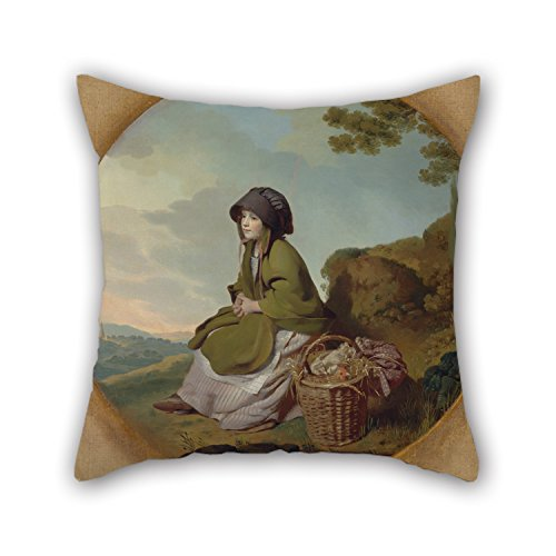 Bestseason 18 X 18 Inches / 45 By 45 Cm Oil Painting Henry Walton - The Market Girl Pillow Covers ,twin Sides Ornament And Gift To Boys,couples,relatives,kitchen,outdoor,adults ()