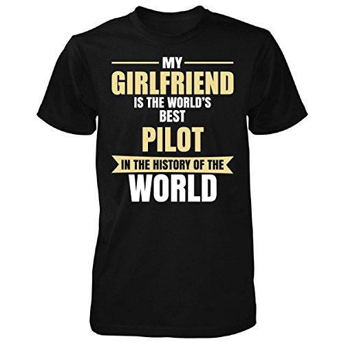 My Girlfriend Is The World's Best Pilot - Unisex Tshirt
