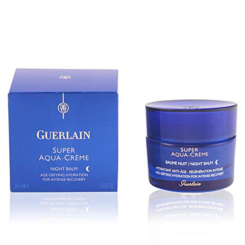 Guerlain Super Aqua Creme Age-Defying Hydration Night Cream for Intense Recovery, 1.6 Ounce