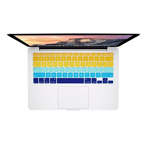 (Marblue South Beach Multicolor Keyboard Protector for Macbook Pro Retina, Macbook Pro, and Macbook Air 13