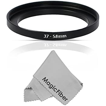 Amazon Com Goja 37 58mm Step Up Adapter Ring 37mm Lens