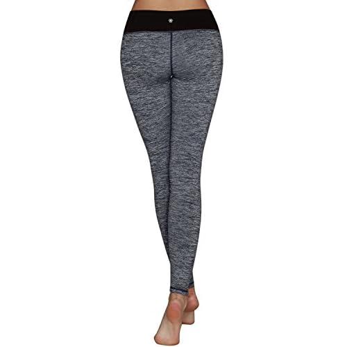ec8abe6a73887 Yoga Reflex Women's V-cut Waist Active Running Yoga Leggings Pants (XS-2XL