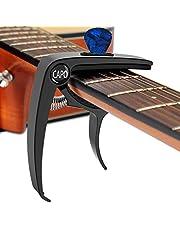 Guitar Capo for 6 String Trigger Single Black