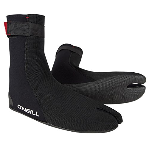 Ninja Boot (O'Neill Wetsuits Mens Heat Ninja Boot, Black,)