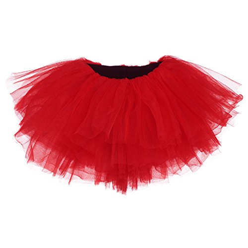 My Lello Baby Tutu Short Ballet Skirt 10-Layer (Newborn - 3mo.) Red
