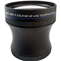 Professional 4.5X Telephoto HD Lens Kit with Adapter for Nikon L810 L820 L830 L840 Cameras
