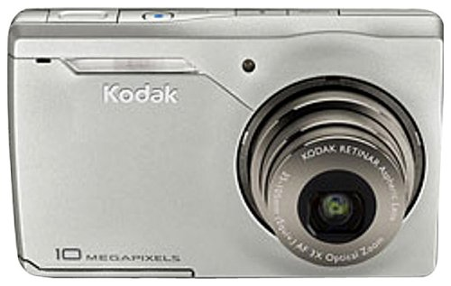 - Kodak Easyshare M1033 10 MP Digital Camera with 3xOptical Zoom (Silver)