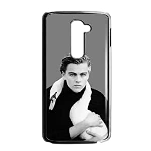 LG G2 Cell Phone Case Black Leonardo Dicaprio GCL Cell Phone Case Customized Plastic
