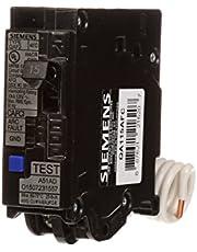 SIEMENS QA115AFC 15-Amp Single Pole 120-volt Plug-On Combination AFCI Breaker, Black