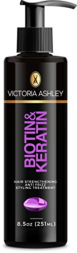 Victoria Ashley Hair Loss Treatment -Strengthens & Repairs Hair Cuticles for Renewed, Vigorous Hair Regrowth. Biotin + Keratin. Exclusive & Safe Formula for All Hair Types.