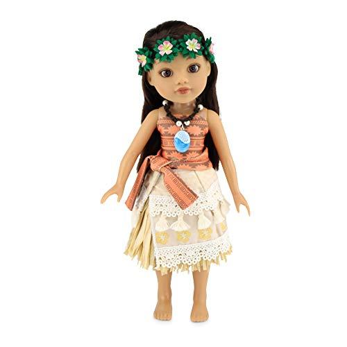 에밀리즈 14 인치 인형 옷|공주 아나-영 6 조각 인형 옷을 포함하여 심장 테 FITI 목걸이와 헤드밴드  | 14 인형 옷 맞는 미국 소녀 WELLIE WISHERS 및 반짝이 소녀