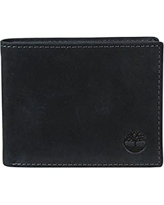 Timberland Men's Boot Leather Passcase Wallet - D6138708