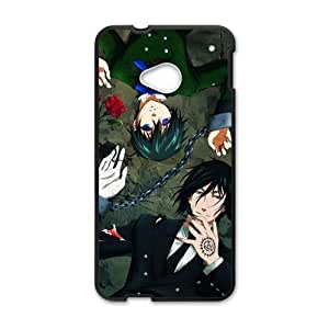 DAZHAHUI Black Butler Cell Phone Case for HTC One M7
