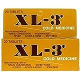 xl 3 cold medicine - XL-3 Cold Medicine Tablets 20 CT (Pack of 9)