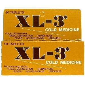 cold medicine tablets