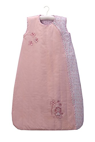 Slumbersafe Summer Baby Sleeping Bag 0.5 Tog - Dainty Dolly, 6-18 (Wool Dolly)