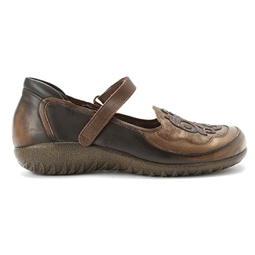 Brown Shoes Gold Motu Womens Leather Naot YUZHnTBZx