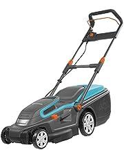 Gardena PowerMax 1200/32 elektrische grasmaaier: grasmaaier tot 300 m², 32 cm maaibreedte, 30 l inhoud, maaihoogte 20-60 mm, inklapbare stang, ergonomische handgreep