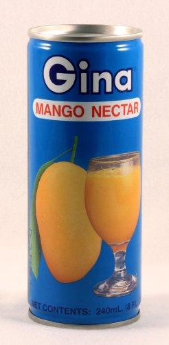 Gina Mango Nectar 240ml - Seattle Nectars