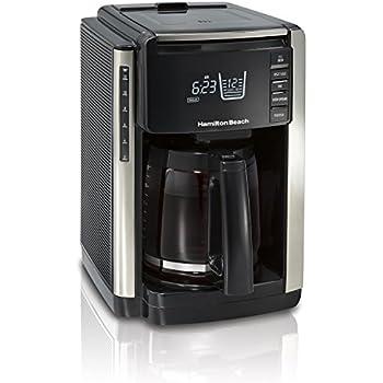 Hamilton Beach 45300R TruCount Coffee Maker, 12 Cup, Black