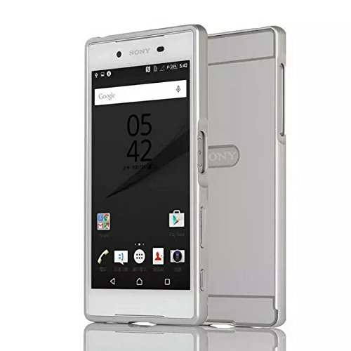 3 opinioni per Sony Xperia Z5 Custodia OKCS® Hard Cover Back Case Bumper Metal Alu TPU, in