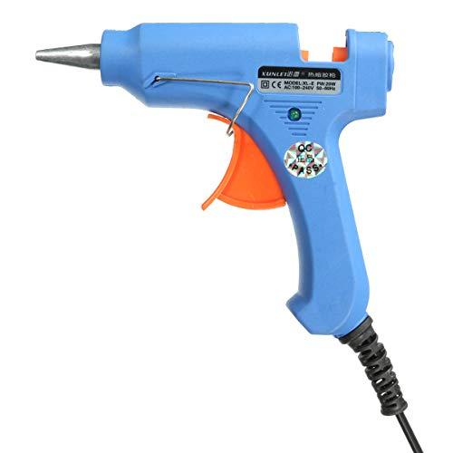 Melt Glue Gun - Hot Melt Glue Gun - 20W Professional Trigger Electric Melt Glue Gun for Hobby Craft Mini (Electric Glue Gun)