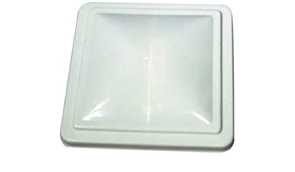 Pre 1994 Camco 40160//40167 RV White Unbreakable Polycarbonate Vent Lid-Jensen