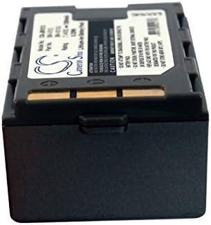 GR-DVX408 Battery GR-DVX407EG 1260mAh Replacement for JVC GR-DVX400EG BN-V312 P//N BN-V306 GR-DVX407 BN-V306U