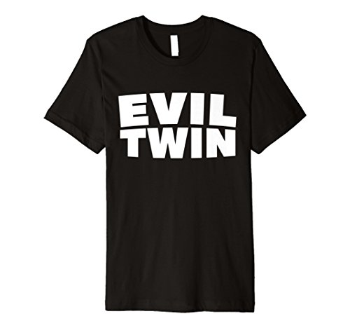 Evil Twins Halloween Funny Shirt Best Friend Costume Gift