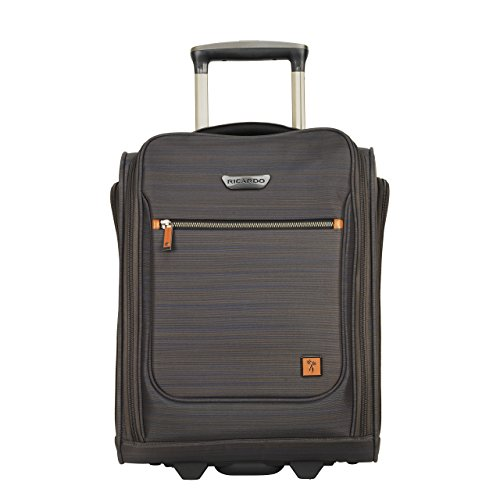 Ricardo Beverly Hills San Marcos 16-inch Under Seat Rolling Tote, Gray -