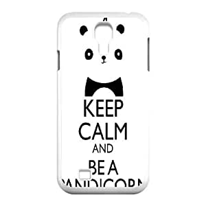 Keep calm Samsung Galaxy S4 9500 Cell Phone Case White E1312226