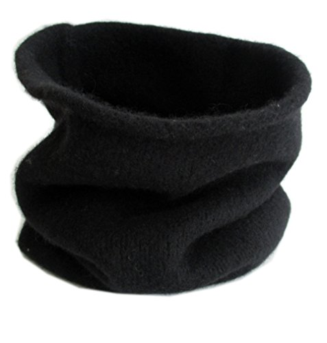 Frost Hats Cashmere Neck Warmer CSH-891 (Black) by Frost Hats (Image #4)