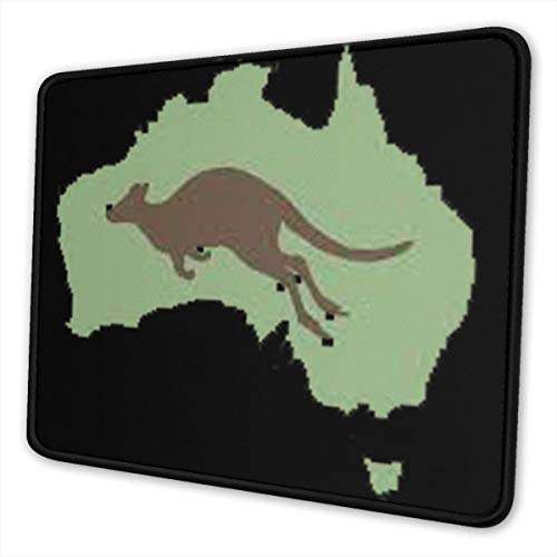 Vintage Style Australia Mouse Pad Non-Slip Rubber Gaming Mouse Pad Rectangle Mouse Pads for Computers (Best Gaming Pc Australia)