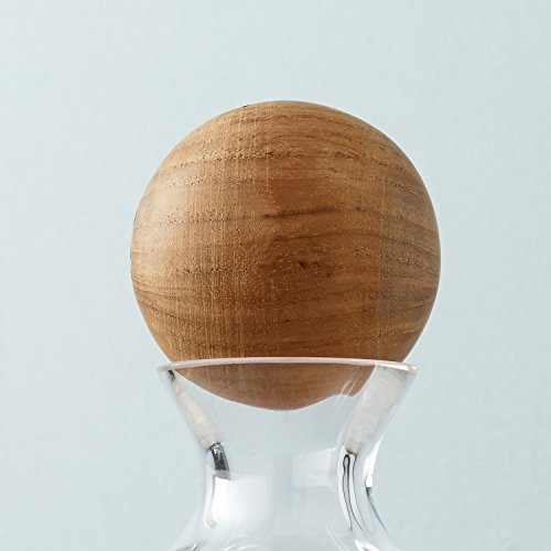 Wood Decanter Stopper by Wine Enthusiast