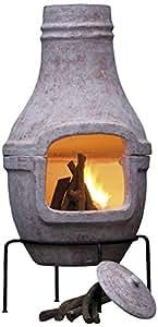 BBQ Collection 34843 - Chimenea y barbacoa de carbón