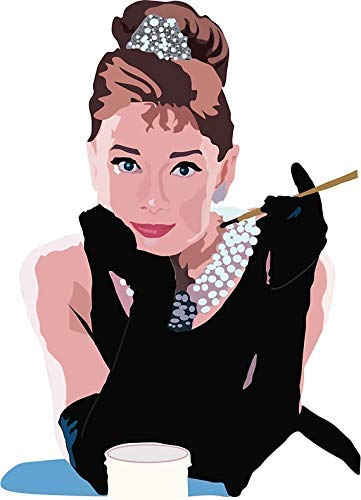 MR3Graphics Magnet Breakfast at Tiffanys Magnetic Car Sticker Decal Bumper Magnet Vinyl 5
