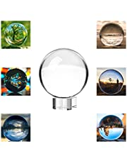 Neewer 110mm/4.33inch Clear Crystal Ball Globe with a Crystal Stand for Feng Shui/Divination or Wedding/Home/Office Decoration