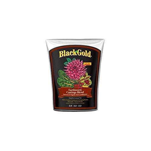 Black Gold 1390302 16-Quart Earthworm Castings ()