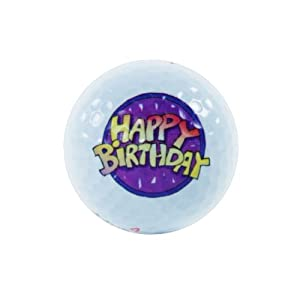 Karwen Design B9933 --- HAPPY BIRTHDAY --- GOLFBALL--- GOLF ---- GOLFSPIEL...
