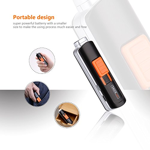 Lighter, Tacklife ELY03 Electric Arc Lighter, USB Rechargeable Electric Lighter with Li-Ion Battery 300 Times Spark for Per Charge, Windproof Pocket & Candle Lighter for Indoor and Outdoor by TACKLIFE (Image #3)