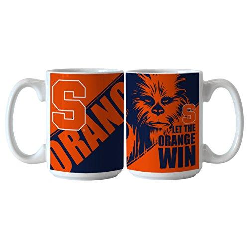 NCAA Syracuse Orange Star Wars Sublimated Coffee Mug, 15-ounce, 2-Pack